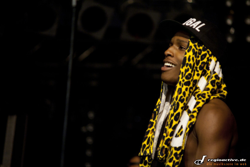 ASAP Rocky (live beim Splash 2012)