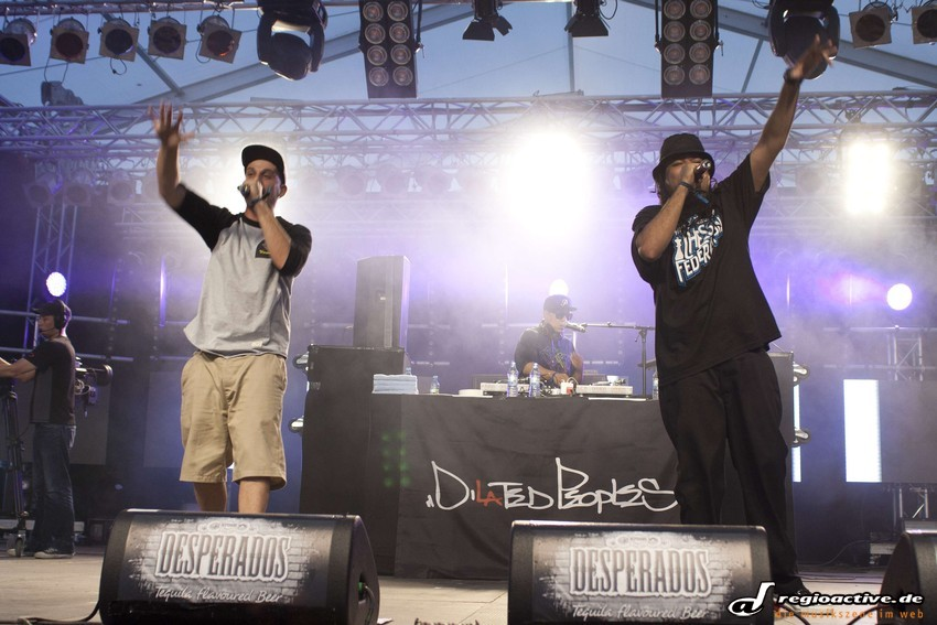 Dilated Peoples (live beim Splash 2012)