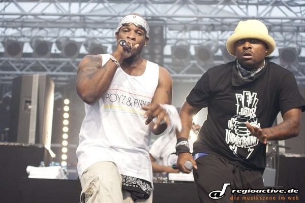 Eure Lordschaft - Fotos: Lords of the Underground live beim Splash! 2012